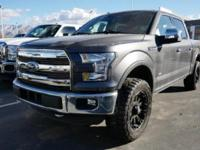 This 2016 Ford F-150 4WD SuperCrew 145 Lariat is