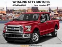 4WD! Turbocharged! 2016 Ford F-150. This