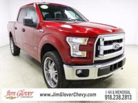 2016 Ford F-150 XLT in Ruby Red Metallic Tinted