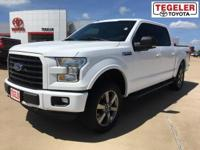 2016 Ford F-150 XLT 4WD 6-Speed Automatic Electronic