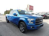 Options:  2016 Ford F-150 Navigation! Fx4 Package!