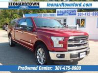 2016 F-150 Supercrew King Ranch 4 Wheel Drive - LOADED