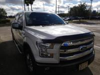 Recent Arrival! This 2016 Ford F-150 Lariat in White