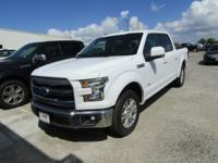 Options:  2016 Ford F-150 Lariat|Oxford White|Black