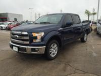 Options:  2016 Ford F-150 Lariat|Blue Jeans