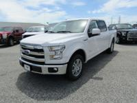 Options:  2016 Ford F-150 Lariat|White Platinum