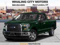 Turbocharged! 4X4! 2016 Ford F-150. Don't miss out on