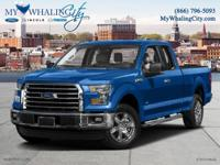 Extended Cab! 4WD! 2016 Ford F-150. If you're looking