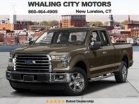 4 Wheel Drive! Extended Cab! 2016 Ford F-150. This 2016