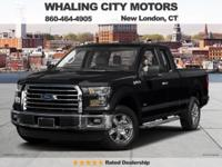 Extended Cab! 4X4! 2016 Ford F-150. If you're looking
