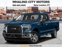 Turbocharged! Extended Cab! 2016 Ford F-150. This
