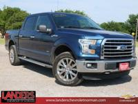 CARFAX One-Owner. Blue Jeans Metallic 2016 Ford F-150