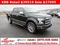 1-Owner New Vehicle Trade! Lariat 5.0 V8 Crew Cab 4x4.