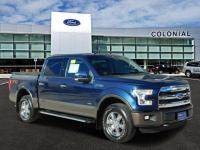 2016 Ford F-150 SuperCrew Cab Lariat 4 Wheel Drive With