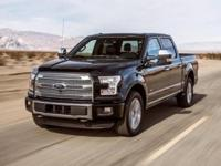 Black 2016 Ford F-150 Lariat 4WD 6-Speed Automatic