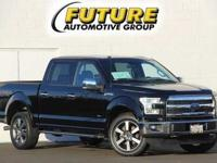 This outstanding example of a 2016 Ford F-150 Lariat is