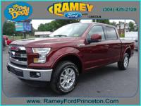 Take command of the road with this 2016 Ford F-150.
