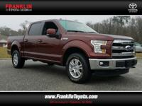 F-150 Lariat, 4D SuperCrew, and 4WD. Wow! Where do I
