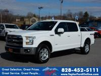 Options:  2016 Ford F-150 Lariat|4X4 Lariat 4Dr