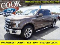 * ONE OWNER!! * - LARIAT - FX4 - NAVIGATION - HEATED /