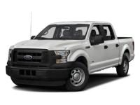 4WD, FORD CERTIFIED, 2016 Ford F-150Lariat in White