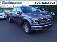 WOW!!! Check out this. 2016 Ford F-150 Lariat Gray
