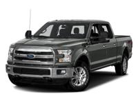 2016 Ford 4D SuperCrew F-150 4WD 6-Speed Automatic