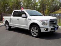 2016 Ford F-150 SuperCrew Cab Limited 4 Wheel Drive