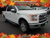 This 2016 Ford F-150 Lariat SuperCrew 4X4 has all of