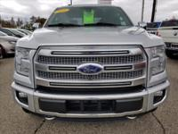 Options:  2016 Ford F-150 Platinum|4X4 Platinum 4Dr