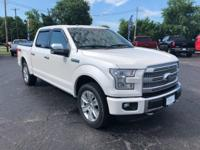 2016 F-150 Platinum 4WD Local Trade, Non-Smoker, New