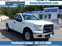 2016 F150 Regular Cab XL - 8' Bed - Power Equipment