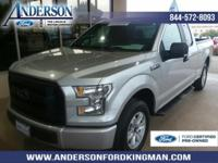 Certified. Ingot Silver Metallic 2016 Ford F-150 XL RWD