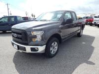 Options:  2016 Ford F-150 Xl|Magnetic Metallic|Dark