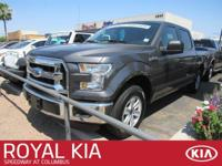 This dependable 2016 Ford F-150 works hard so you