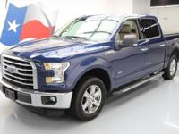 2016 Ford F-150 with Texas Edition,2.7L Turbocharged V6
