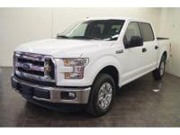 For a smoother ride, opt for this 2016 Ford F-150 XL