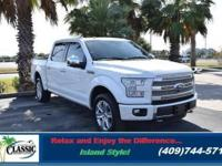 A FIRST TO BE RECKONED WITH. The 2016 Ford F 150. The