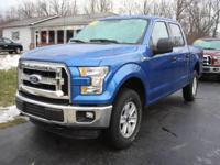Options:  2016 Ford F-150 Xlt 4X4 4Dr Supercrew 5.5 Ft.
