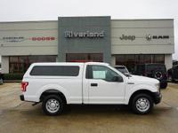 Oxford White 2016 Ford F-150 XL CARFAX One-Owner. Tow