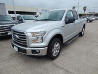 Options:  2016 Ford F-150 Xlt|Ingot Silver
