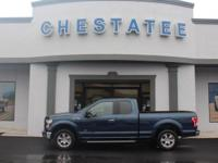 From home to the job site, this Blue 2016 Ford F-150