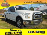 This 2016 Ford F-150 XLT boasts features like a hill