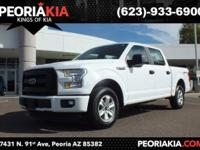 This is a 2016 Ford F-150 XLT. It is a 2 wheel drive.