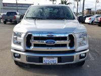 Options:  2016 Ford F-150 Xlt|Silver|Abs Brakes|Alloy