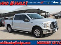 CARFAX One-Owner. Silver 2016 Ford F-150 XLT RWD