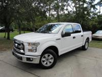 This 2016 Ford F-150 4dr 2WD SuperCrew 145 XLT features