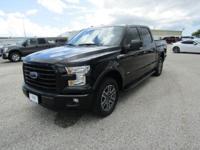 Options:  2016 Ford F-150 Xlt|Shadow Black|Black