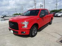 Options:  2016 Ford F-150 Xlt|Race Red|Black W/Unique