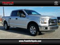 F-150 XLT, 4D SuperCrew, Silver, ABS brakes, Alloy